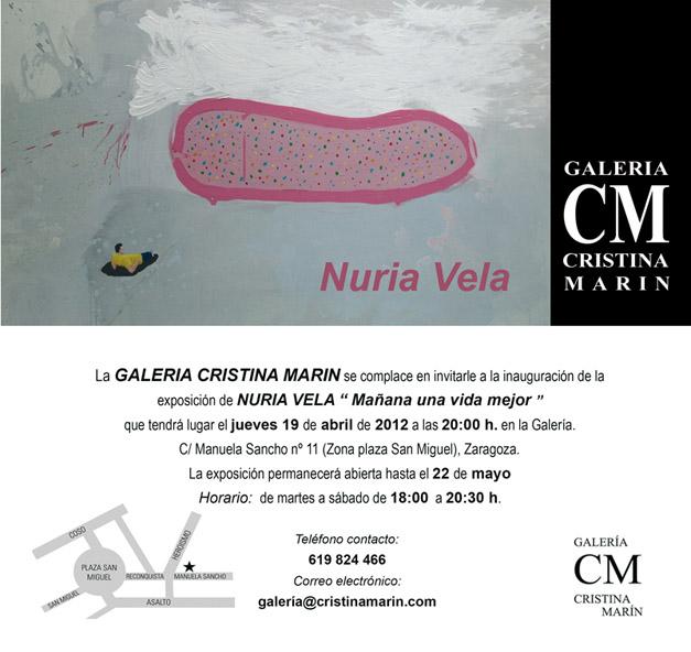 Exposición Nuria Vela en Galería Cristina Marín